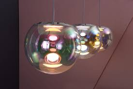 pendant oled luminaires iris by neo craft