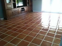 tile floor. Mexican Tile Floor Finish Palm Beach S Ace Marble Restoration With Regard To Tiles Idea 19
