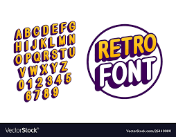 English Capital Letters For Print Design