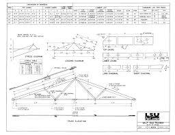 30 Foot Truss Design Framing
