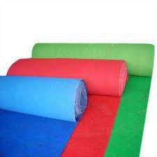 carpet roll. Non Woven Carpet Roll