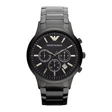 emporio armani mens chronograph watch ar2453