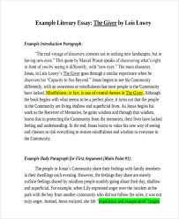 literary essay samples  literary essay