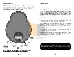 pdf manual for bazooka subwoofer el8a Bazooka Wiring Plug bazooka subwoofer el8a pdf page preview