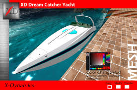 Dream Catcher Yachts Second Life Marketplace XD Dream Catcher Yacht MC Boxed 52