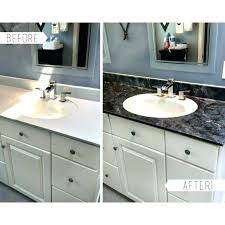 how to paint bathroom countertops how to paint bathroom to look like granite how to paint