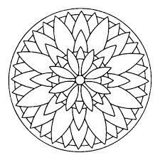 Simple Mandala Coloring Pages Printable Of Mandalas Animal