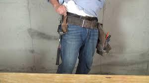 custom leather tool belt. custom leather tool belt