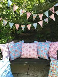 waterproof cushions for outdoor furniture. Vintage 100 WATERPROOF OUTDOOR PVC COATED GARDEN BENCH SEAT CUSHIONS U0026 BUNTING EBay Waterproof Cushions For Outdoor Furniture