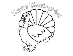 Happy Thanksgiving Coloring Pages Children Thanksgiving Coloring