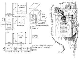 plans prepared by bob albert see next blog for details on how to mount a squirrel house 30 feet up