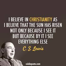 Cs Lewis Quotes Christianity Best of Cs Lewis Quote Discovered By Sweet Kimi On We Heart It