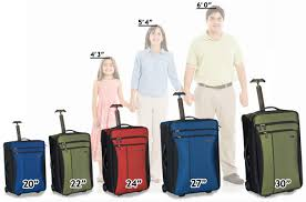 Rimowa Size Chart Luggage Size Guide Luggage Pros