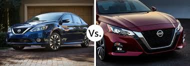 Nissan Altima Comparison Chart 2019 Nissan Sentra Vs 2019 Nissan Altima