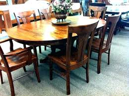round kitchen table sets for 5 rustic dining set 54
