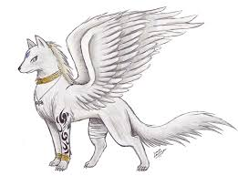baby wolf drawing with wings. Wolf With Wings Awesome Drawings Of Wolves Hyrulara Form By In Baby Drawing