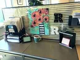 office desk decoration ideas. Work Cubicle Decor Desk Best Accessories Ideas On Office Decoration F