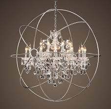 cozy orb crystals chandeliers amepac furniture for chandelier with ideas 0