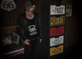 outfit alter james leather jacket biker jeans s it includes leather jacket only standard sizes with hud 14 prints 3 solid colors
