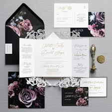 Wedding Invitation Folding Victoria Folding Wedding Invitation By Feel Good Wedding Invitations
