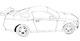 Sports Cars Coloring Pages Pdf Printable Car Coloring Pages Ng