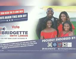 Bridgette Smith-Lawson for Fort Bend County Attorney - VOTE BRIDGETTE SMITH-LAWSON  | Facebook