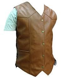 vestsbrown leather biker vest b2 brw prev
