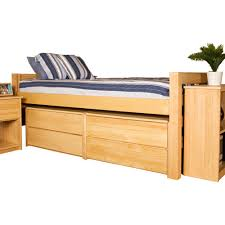Twin Xl Platform Bed Frame With Drawers Home Ideas Pinterest Wood ...