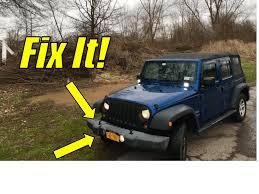 How to change a Jeep Wrangler Fog Light