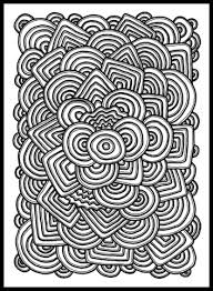 Small Picture Psychedelic Pattern coloring page Free Printable Coloring Pages
