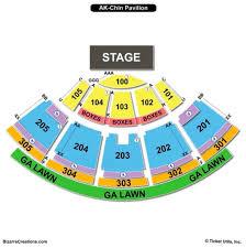 ak chin pavilion seating chart