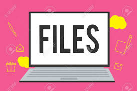 Writing Note Showing Files Business Photo Showcasing Folder