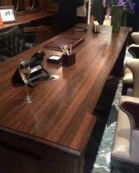 wood desks custom crafted by grothouse for commercial offices and residential offices