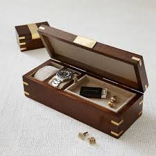 watch box watch case men s watch box watch box for men wood made of sheesham wood and accented real brass this watch box is a stylish
