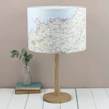 cow print lamp shade ceiling and table lampshades bespoke map lampshade  choose the location lighting shades