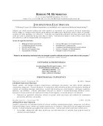 Electrical Contractor Resumes Electrician Resume Sample Wikirian Com