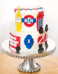 10 Birthday Cakes London Photo London Themed Cake London Themed