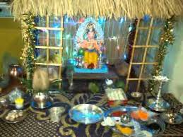 home made ganpati decoration 2014 youtube