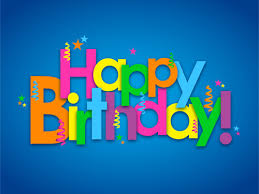 Colored Happy Birthday Text Design Vector Vector Festival