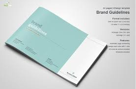 Booklet Template Free Download New 48 Great Beautiful Brand Book Templates To Present Your Branding