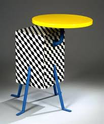 memphis style furniture. Memphis Style Furniture Side Table For Sale U
