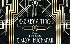Great Gatsby Invitation Template Gatsby Invitation Template Free Freeeze