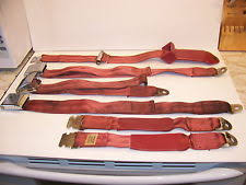 plymouth barracuda parts 1966 plymouth barracuda red seatbelts oem mopar 2802947
