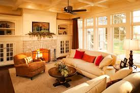 orange living room design. where to place your living room sofa orange design n