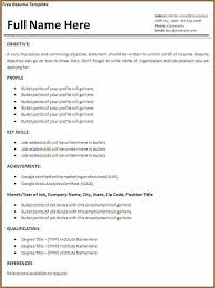 Printable Resume Template 15 Proffessional Resume Template Sample Paystub
