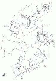 2014 yamaha wr250r wr250re headlight parts best oem headlight bmw x3 headlight part diagram bumper parts diagram