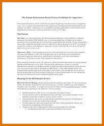 Review Examples Annual Performance Employee Self Evaluation ...