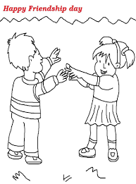 In the above graph, the mean age is plotted for various stages of knowledge of young. Friendship Day Printable Coloring Page For Kids 1