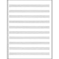 Blank Staff Paper Piano Staff Sheets Ohye Mcpgroup Co