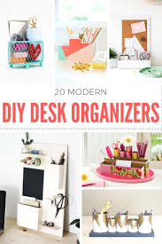 diy desk organizer ideas. Unique Ideas Are You Looking To Get Your Place Organized On A Budget Try One Of These  20 Ideas For DIY Desk Organizer Personalize Them Any Way Like Via   On Diy Desk Organizer Ideas N
